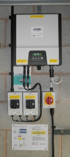 All cables supported neatly, accessible for inspection and fully labelled.
