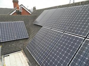 13 x Panasonic 240W solar panels