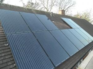 12 x Suntellite 250W black solar panels