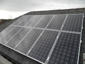 12 x 200W CSUN solar panels