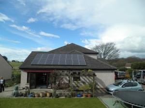 16 x Panasonic 250W solar panels