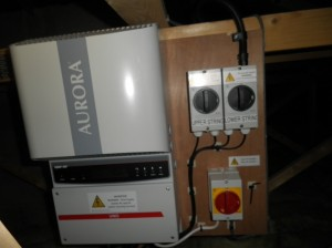 Power-One Aurora PVI-3.6OUTD inverter