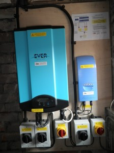 Eversolar and Mastervolt inverters