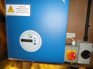 Solar panels in Edenfield