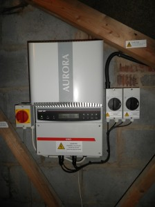 Power-One Aurora PVI-3.6OUTD inverter