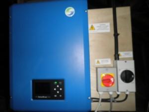 Solar panels in Denton
