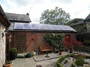 9 x CSUN 200W solar panels