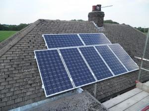7 x CSUN 200W solar panels