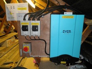 Eversolar TL4000 inverter