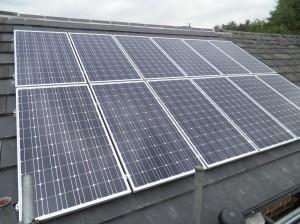 12 x CSUN 200W solar panels