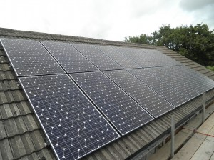 16 x 250W Panasonic solar panels