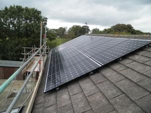 16 x Hyundai 250W solar panels