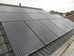 14 x Eco Future 250W solar panels