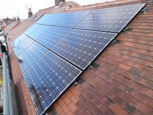 12 x Hyundai 250W black framed solar panels