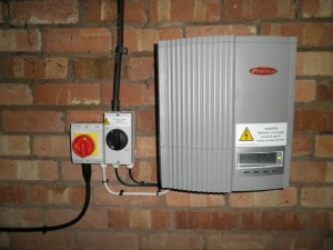 Fronius IG30 inverter
