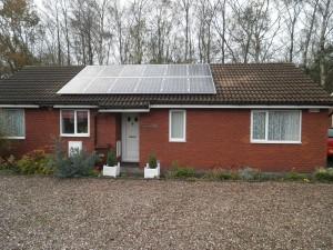 12 x Hyundai 245W solar panels