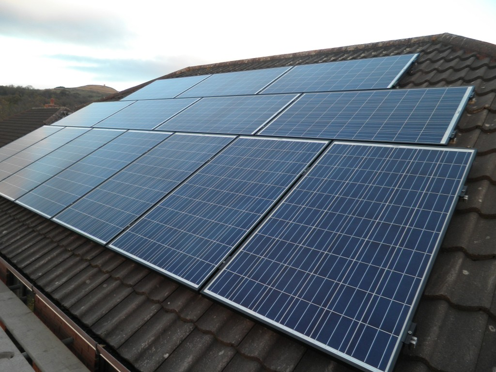 Red Electrical Solar Panels In Bolton Bury Horwich