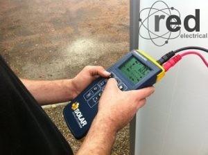 Testing a solar PV array