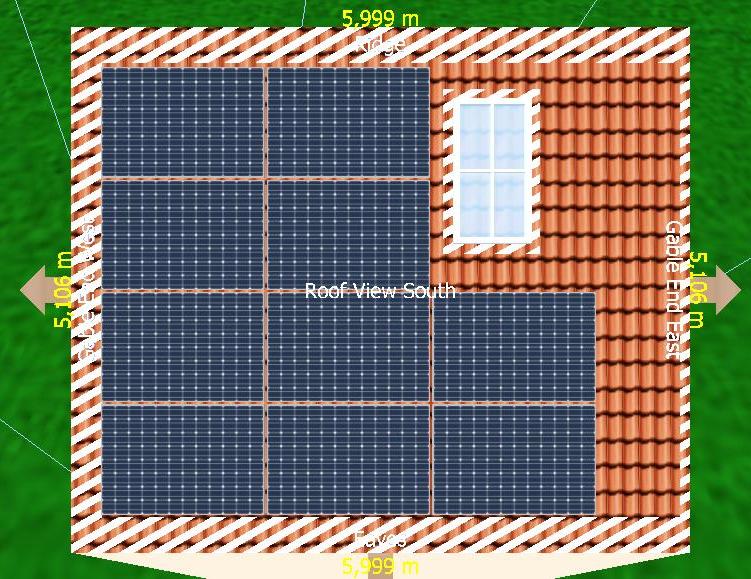 10 x Seraphim 285W solar panels (system size 2.85 kW)