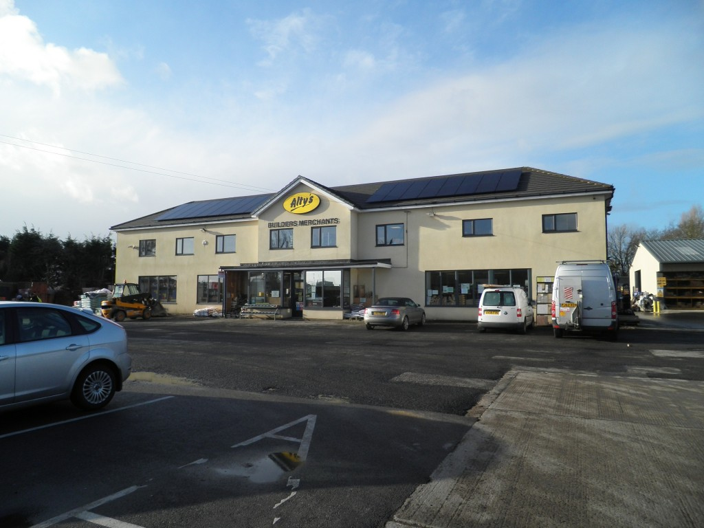 Solar panels at Altys Much Hoole