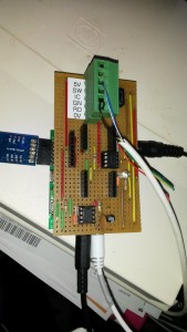 Prototype EV charge controller