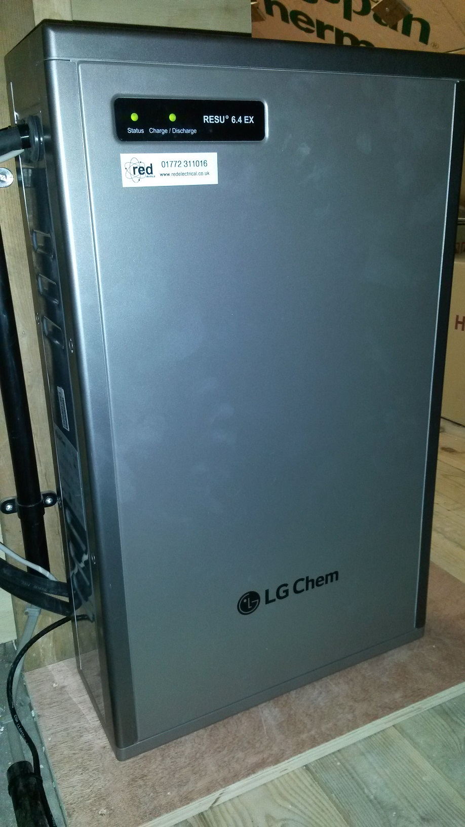 LG Chem 6.4kW lithium battery