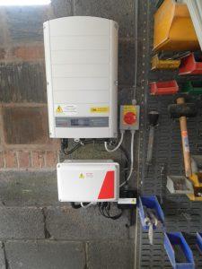 SolarEdge a.c. coupling inverter