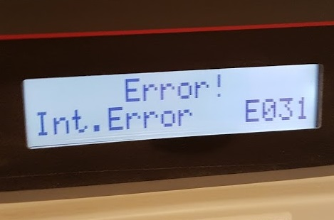 Power One Aurora Error E031 We Can Help With This Problem