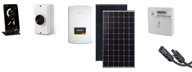 Solar PV installation, sensible priced repairs and online shop  Call
